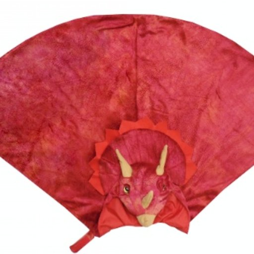 CREATIVE EDUCATION OF CANADA TRICERATOPS HOODED CAPE
