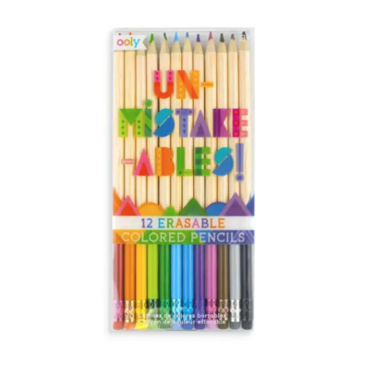 INTERNATIONAL ARRIVALS UNMISTAKE-ABLES ERASEABLE COLORED PENCILS