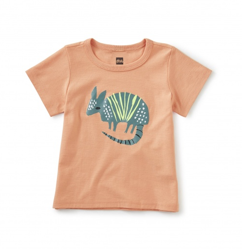 TEA DESERT ARMADILLO GRAPHIC TEE