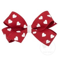 WEE ONES MINI HEART BOW