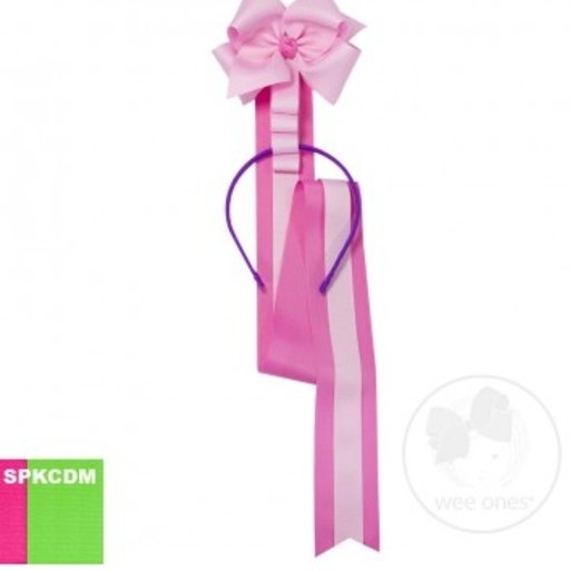 WEE ONES HEADBAND HUGGER AND BOW HOLDER