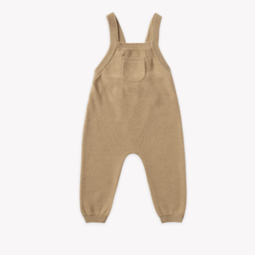 QUINCY MAE ORGANIC SWEATER KNIT OVERALL