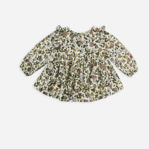 RYLEE AND CRU PIPER BLOUSE IN ENCHANTED FOREST