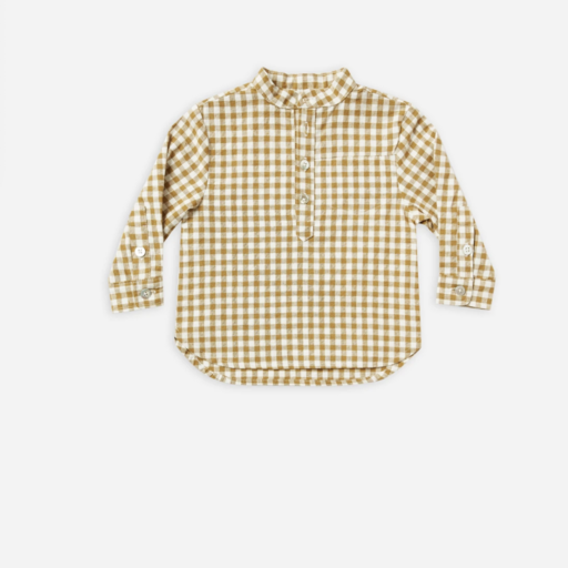 RYLEE AND CRU MASON SHIRT IN GINGHAM