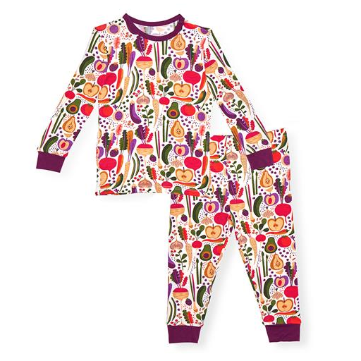 MAGNIFICENT BABY HOME GROWN MODAL MAGNETIC 2 PIECE TODDLER PAJAMA SET