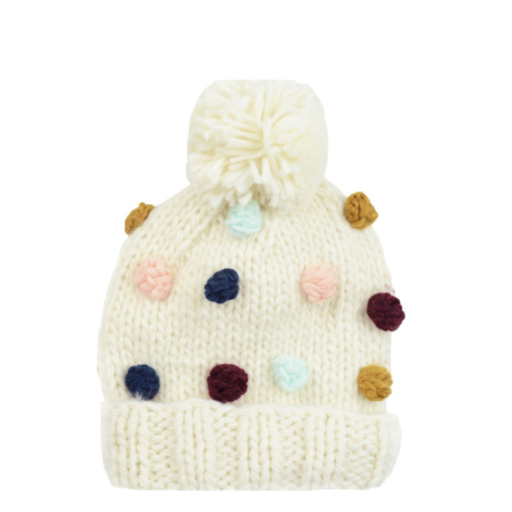 THE BLUEBERRY HILL PERCY DOT KNIT HAT