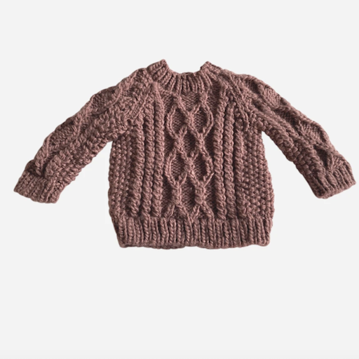 THE BLUEBERRY HILL FISHERMAN SWEATER