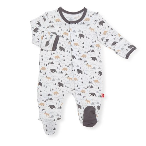 MAGNIFICENT BABY TINY TUNDRA MODAL MAGNETIC FOOTIE