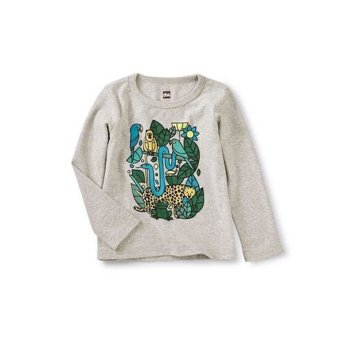 TEA INCAN ANIMALS GRAPHIC TEE