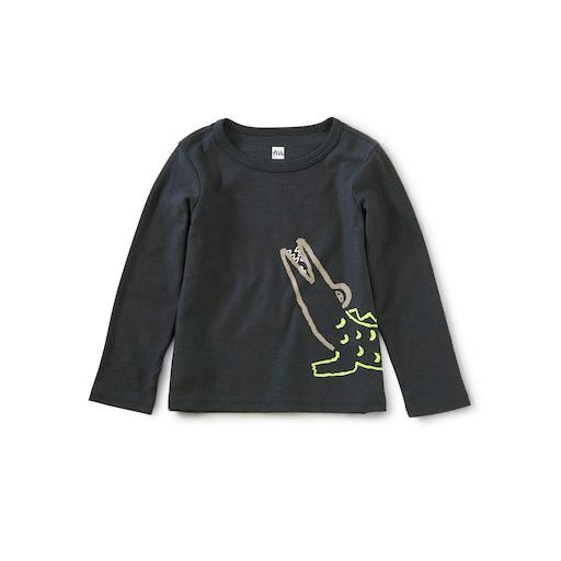 TEA AWESOME ALLIGATOR GRAPHIC TEE