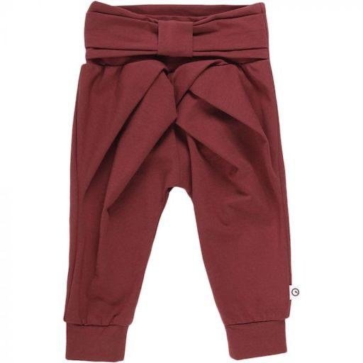 MUSLI COZY ME PANTS WITH BOW