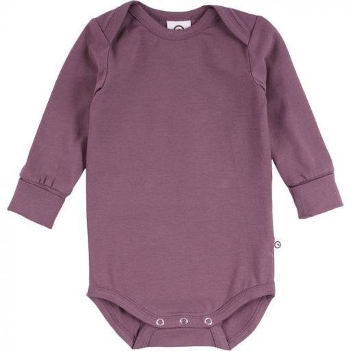 MUSLI COZY ME SOLID COLOURED BODYSUIT