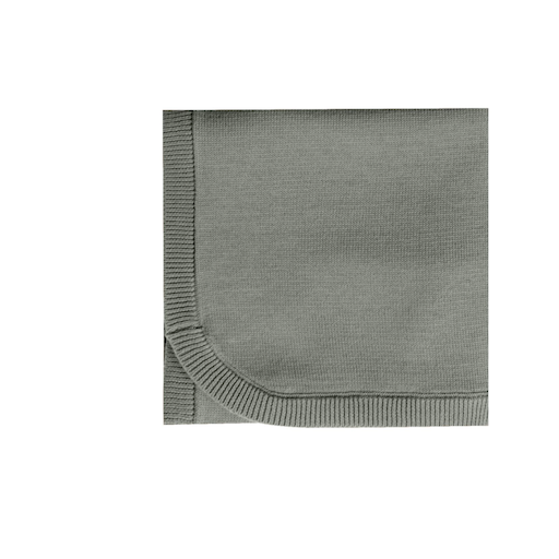QUINCY MAE ORGANIC SWEATER KNIT BABY BLANKET