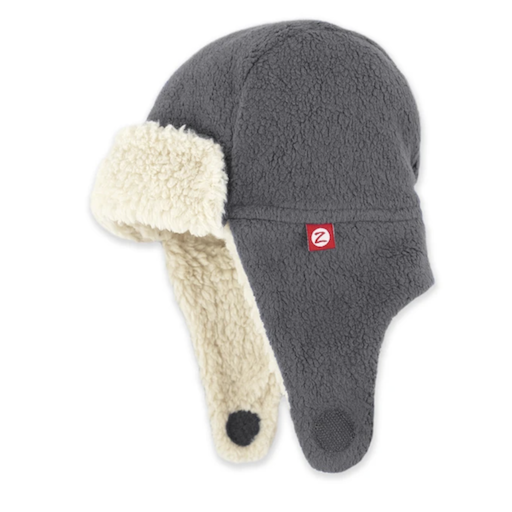 ZUTANO COZY FLEECE FURRY TRAPPER HAT