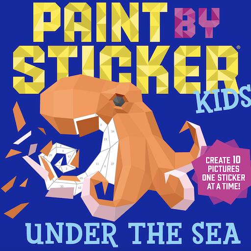 WORKMAN PAINT BY STICKER KIDS UNDER THE SEA