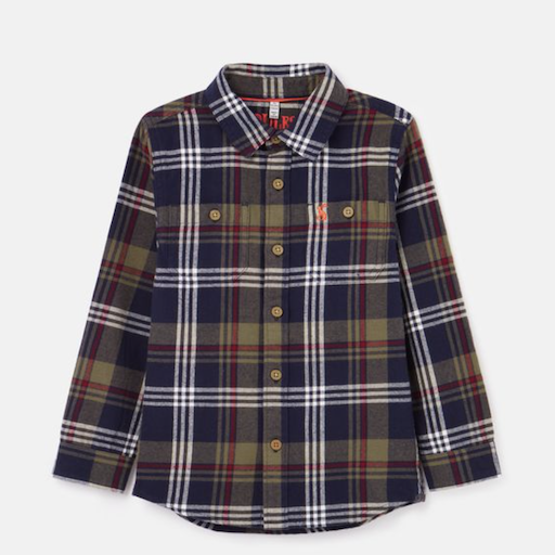 HARNISH BRUSHED CHECK SHIRT