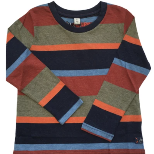 JOULES MARLIN LONG SLEEVE STRIPED T-SHIRT