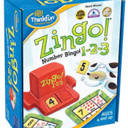 THINK FUN ZINGO 1-2-3