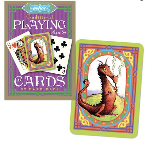 EEBOO DRAGON TRADITIONAL 52 PLAYING CARDS