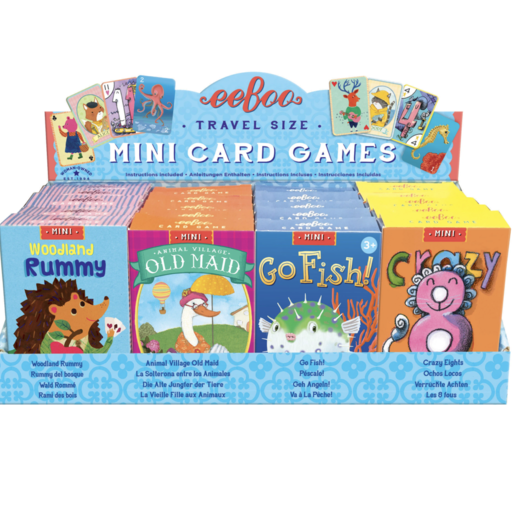 EEBOO MINI CARD GAMES