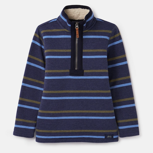 JOULES WINTER DALE FLEECED LINED OVERHEAD SWEATSHIRT