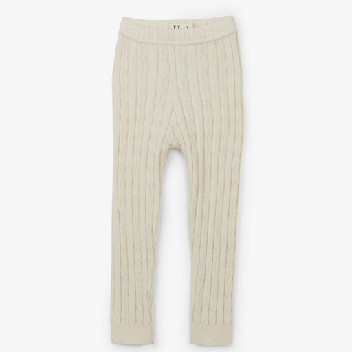 HATLEY CREAM CABLE KNIT TIGHTS