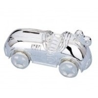 REED & BARTON RACE CAR COIN BANK