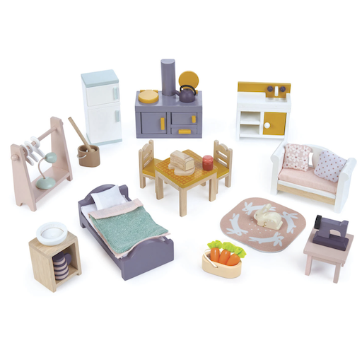 TENDER LEAF TOYS COUNTRYSIDE FURNITURE SET