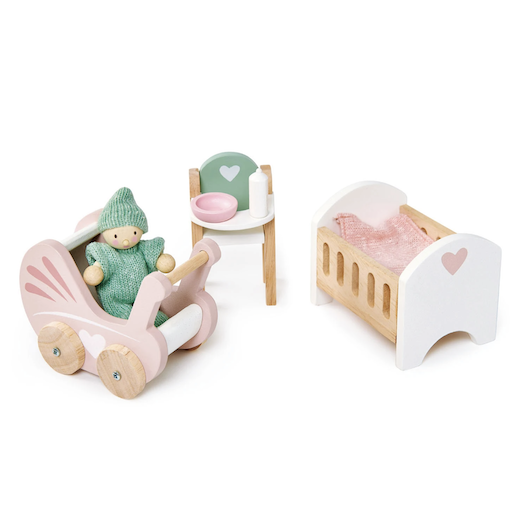 TENDER LEAF TOYS DOVETAIL NURSERY SET