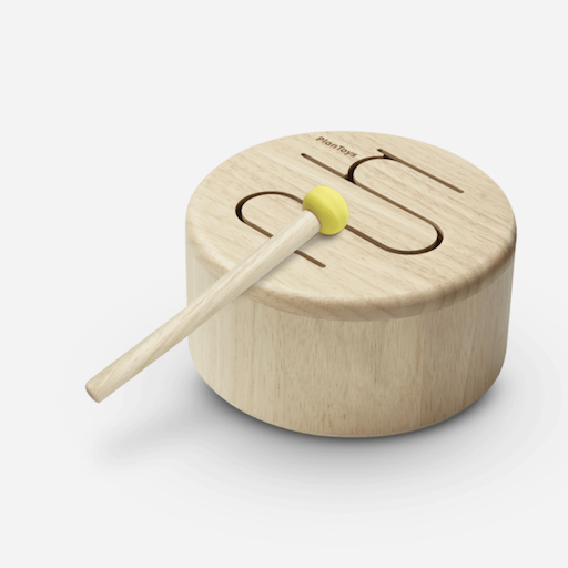 PLAN TOYS, INC. SOLID DRUM NATURAL