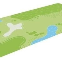 PLAN TOYS, INC. PLAY MAT (ROUND CORNER)