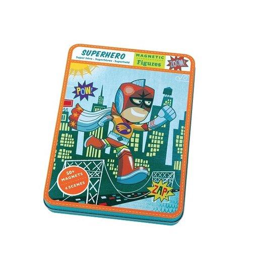 HACHETTE MUDPUPPY SUPER HERO MAGNETIC FIGURES