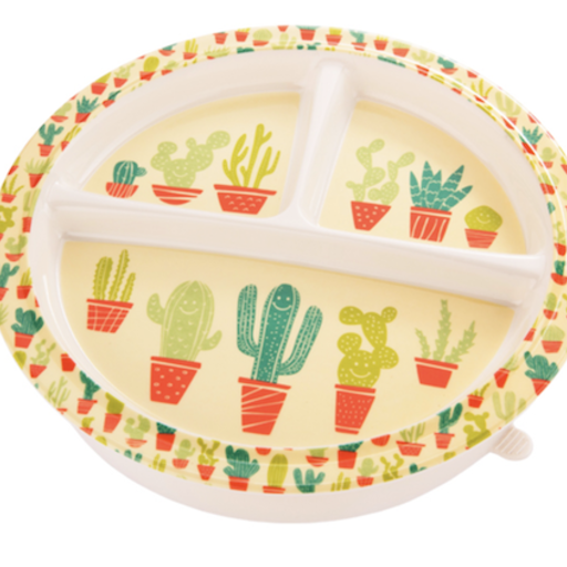O.R.E HAPPY CACTUS DIVIDED SUCTION PLATE