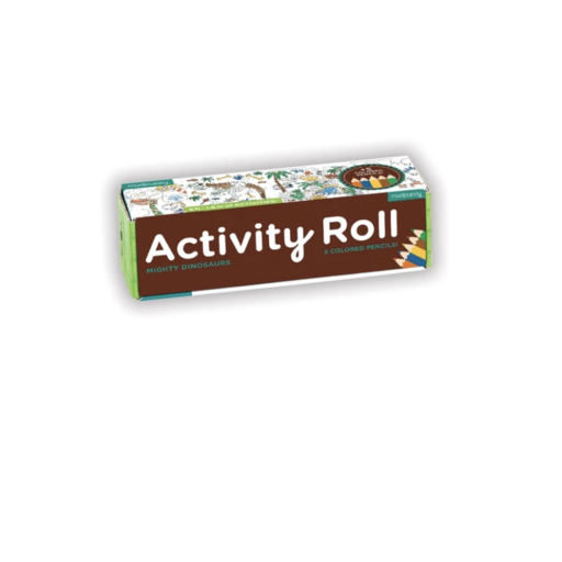 CHRONICLE BOOKS MIGHTY DINOSAURS ACTIVITY ROLL