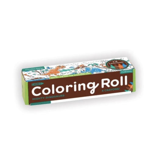 HACHETTE MUDPUPPY MIGHTY DINOSAURS COLORING ROLL
