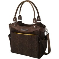 PETUNIA PICKLE BOTTOM PETUNIA PICKLE BOTTOM CITY CARRYALL EMBOSSED IN HOTEL DE VILLE STOP
