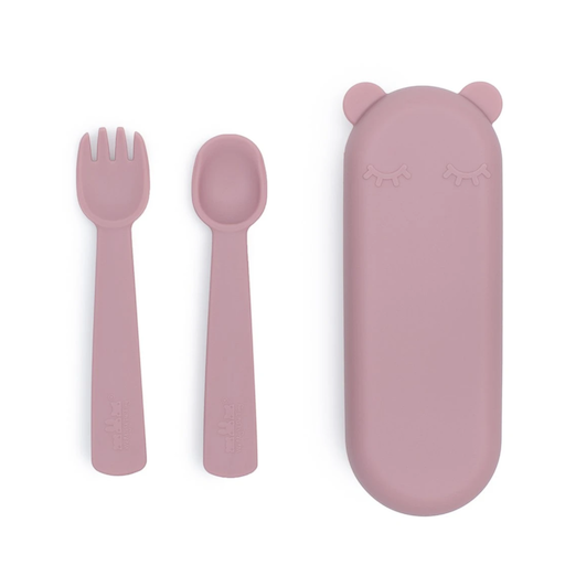 WE MIGHT BE TINY FEEDIE FORK & SPOON SET