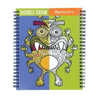 GALISON MUDPUPPY MONSTERS DOUBLE DRAW