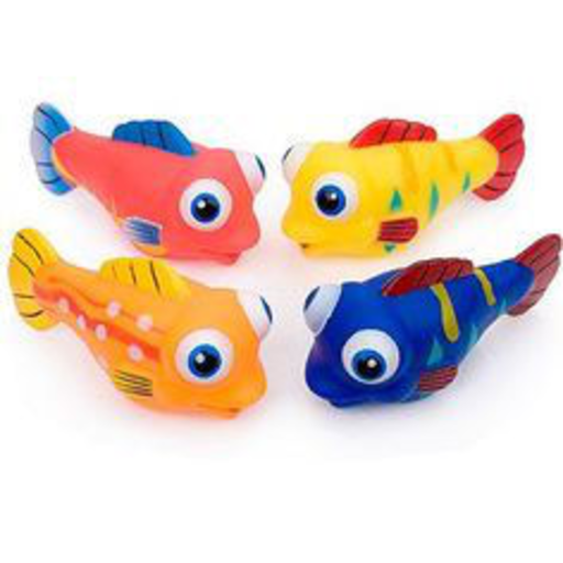 TOYSMITH SILLY FISH SQUIRTER