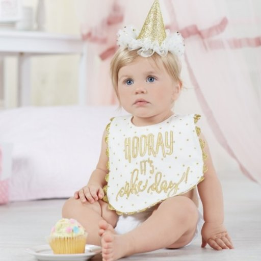 MUD PIE GOLD CAKE SMASHING SET
