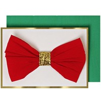 MERI MERI RED/GOLD BOW ENCLOSURE