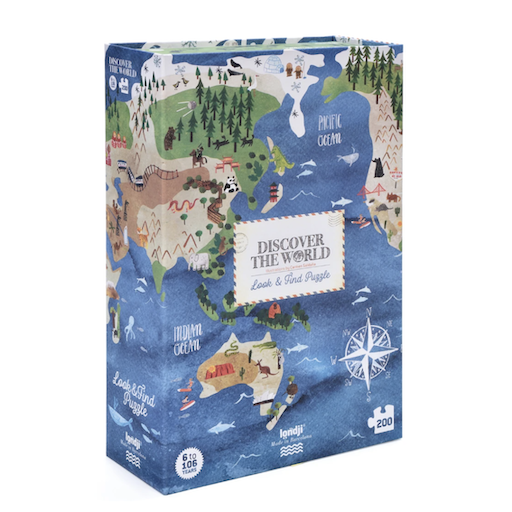 MAGIC FOREST LTD DISCOVERTHE WORLD PUZZLE 200 PIECES OBERSERVATION