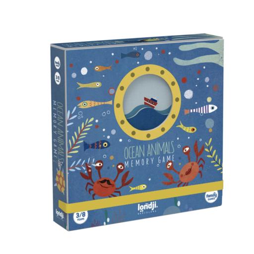 MAGIC FOREST LTD OCEAN ANIMALS MEMORY GAME