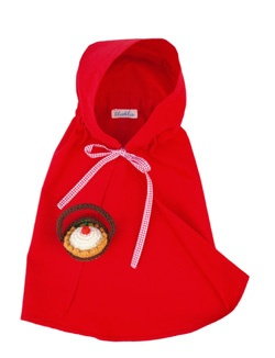 BLABLA BLA BLA RED RIDING HOOD COSTUME