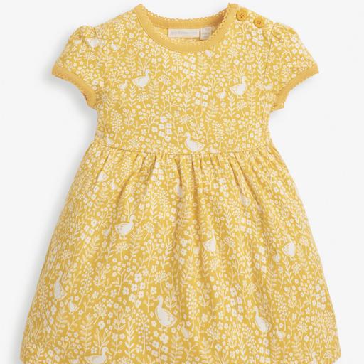JOJO MAMAN BEBE GARDEN DUCK SUMMER INFANT DRESS