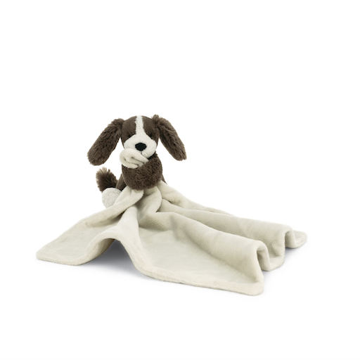 JELLYCAT INC BASHFUL FUDGE PUPPY SOOTHER