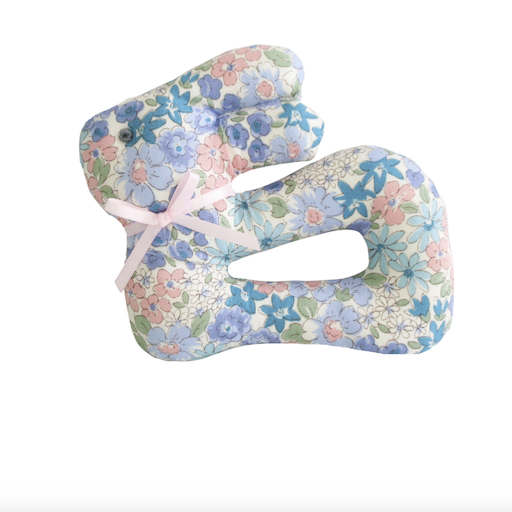 ALIMROSE MY FIRST BUNNY RATTLE- LIBERTY BLUE