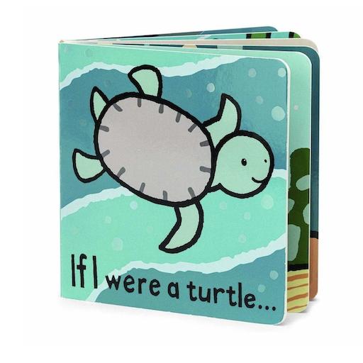 JELLYCAT INC IF I WERE A TURTLE BOARD BOOK