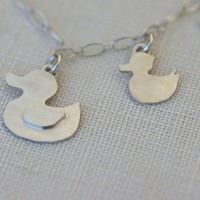SWOON MAMA DUCKY & DUCKLING NECKLACE