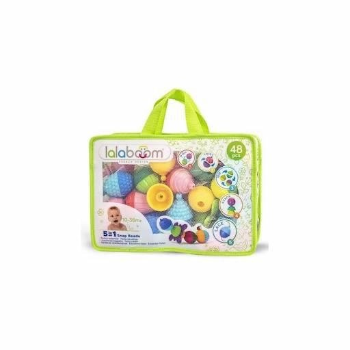 JANOD LALABOOM 48PC EDUCATIONAL BEAD AND ACCESORY SET